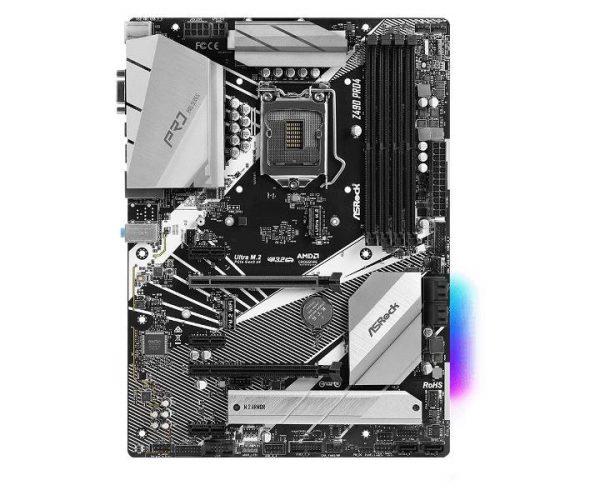 SCHEDA MADRE Z490 PRO4 (90-MXBC50-A0UAYZ) SK 1200 - PIANURA Informatica