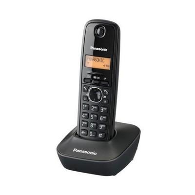 TELEFONO CORDLESS KX-TG1611JTH NERO - PIANURA Informatica