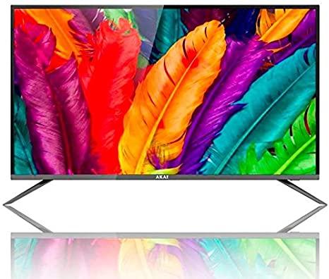 "TV LED 40"" AKTV4035S FULL HD SMART TV WIFI DVB-T2 - PIANURA Informatica"