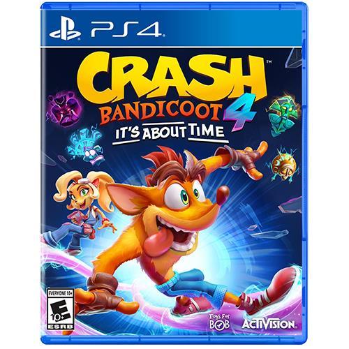 VIDEOGIOCO CRASH BANDICOOT 4 - IT'S ABOUT TIME - PER PS4 - PIANURA Informatica