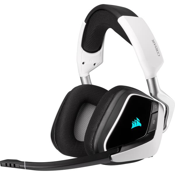 CUFFIE MICROFONO VOID RGB ELITE WIRELESS BIANCA (CA-9011202-EU) GAMING - PIANURA Informatica