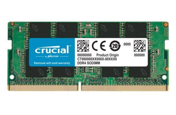 MEMORIA SO-DDR4 8 GB PC3200 (1X8) (CT8G4SFRA32A) - PIANURA Informatica