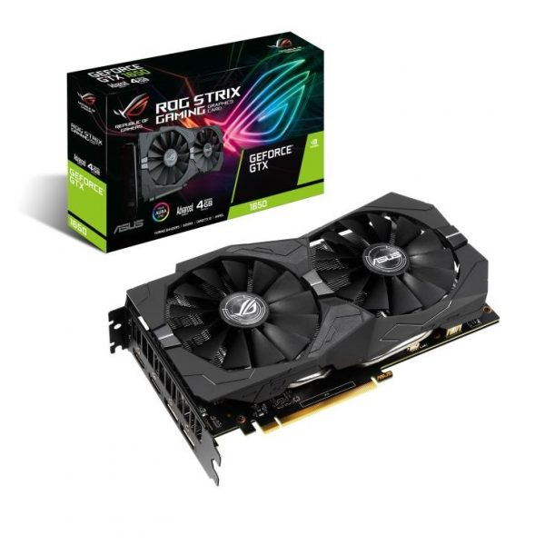 SCHEDA VIDEO GEFORCE GTX1650 ROG STRIX ADVANCED ED. 4 GB PCI-E (90YV0CX0-M0NA00) - PIANURA Informatica
