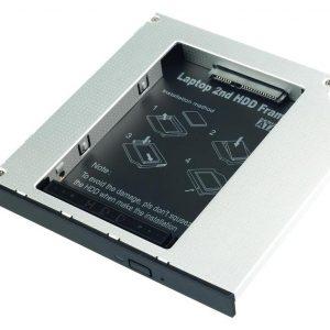 SLITTA X HDD SATA IN SLOT SLIM MASTERIZZATORE NOTEBOOK (20936) - PIANURA Informatica