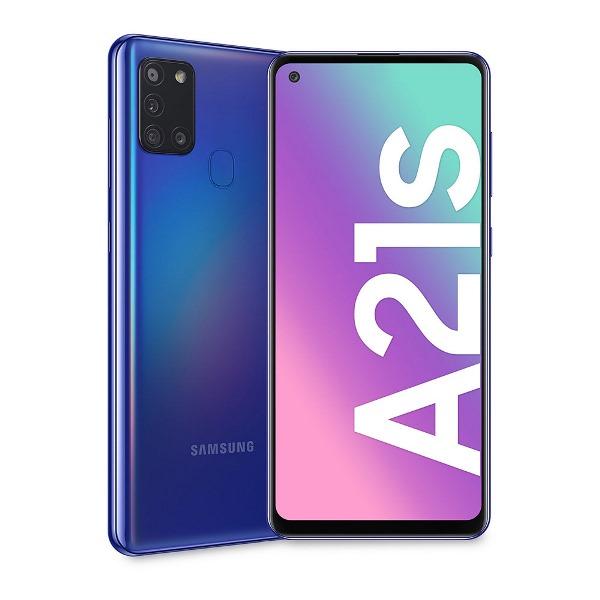 SMARTPHONE GALAXY A21S (A217F) 128GB BLU DUAL SIM - GARANZIA ITALIA - PIANURA Informatica