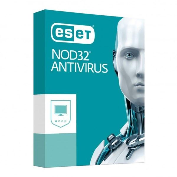SOFTWARE NOD32 ANTIVIRUS RINNOVO RENEW 1 ANNO 2 UTENTI (N32AVR) - PIANURA Informatica
