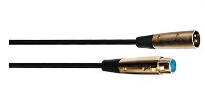 CAVO MICROFONO XLR CA 8262 10 MT M/F - PIANURA Informatica