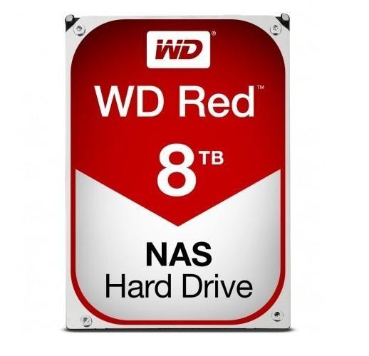 HARD DISK RED 8 TB SATA NASWARE (WD80EFAX) RICONDIZIONATO - PIANURA Informatica