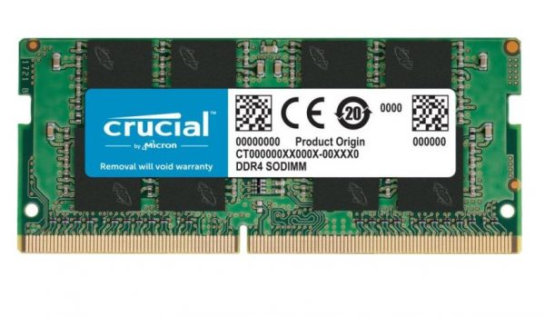 MEMORIA SO-DDR4 16 GB PC3200 (1X16) (CT16G4SFD832A) - PIANURA Informatica