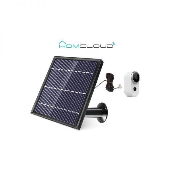 PANNELLO SOLARE CON MICRO USB PER TELECAMERA FREE4 - PIANURA Informatica