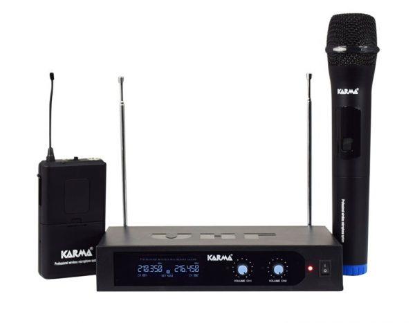 RADIOMICROFONO VHF PALMARE + ARCHETTO (SET 6252PL-A) - PIANURA Informatica