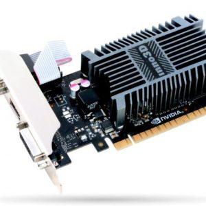 SCHEDA VIDEO GEFORCE GT710 SILENT 2 GB PCI-E LP (N710-1SDV-E3BX) - PIANURA Informatica
