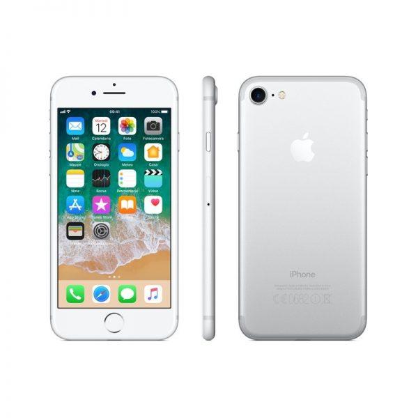 SMARTPHONE IPHONE 7 32GB SILVER (MN8Y2) - RICONDIZIONATO - GAR. 12 MESI - GRADO A - PIANURA Informatica