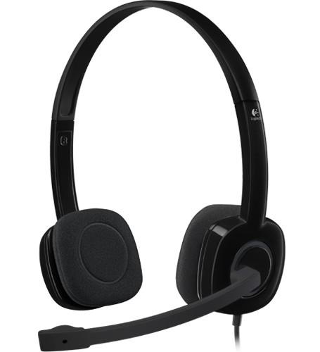 CUFFIE HEADSET H151 (981-000589) - PIANURA Informatica