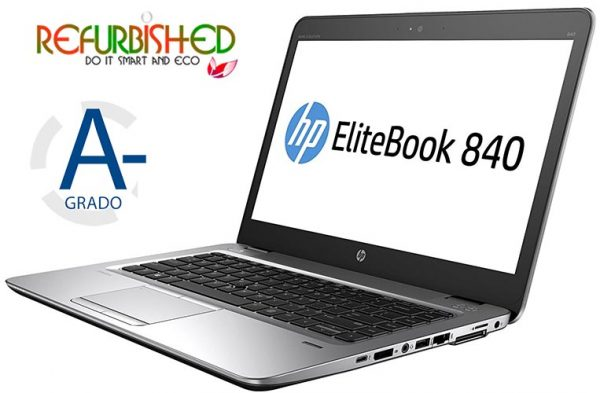 "NOTEBOOK ELITEBOOK 840 G3 INTEL CORE I5-6300U 14"" WINDOWS 10 PRO - RICONDIZIONATO - GAR. 12 MESI - PIANURA Informatica"