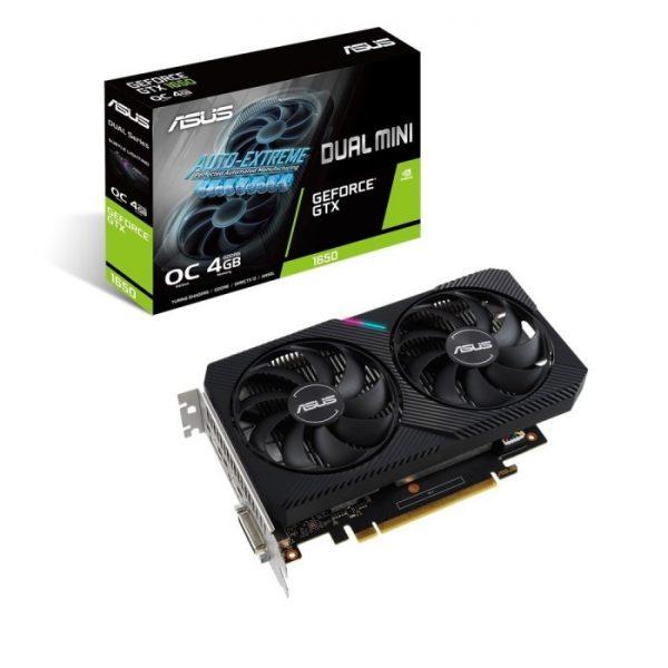 SCHEDA VIDEO GEFORCE GTX1650 DUAL-GTX1650-O4GD6-MINI 4 GB PCI-E (90YV0EH6-M0NA00) - PIANURA Informatica