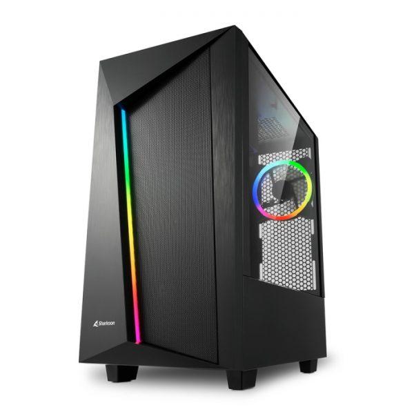 CASE REV100 RGB ATX VETRO TEMPERATO - PIANURA Informatica