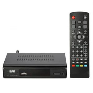 DECODER DIGITALE TERRESTRE HDTV USB DVB-T/T2 1080P - PIANURA Informatica