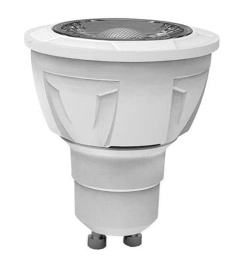 LAMPADA LED FARETTO GU10 7W 3000K LUCE CALDA 500L (GU10-10730C) - PIANURA Informatica