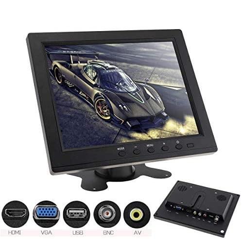 """MONITOR 8"""" HD TFT LCD COLOR PER AUTO / VIDEOSORVEGLIANZA - PIANURA Informatica"""