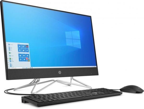 """PC LCD 23.8"""" 24-DF0019NL AIO NERO WINDOWS 10 HOME (1H5W2EA#ABZ) - PIANURA Informatica"""