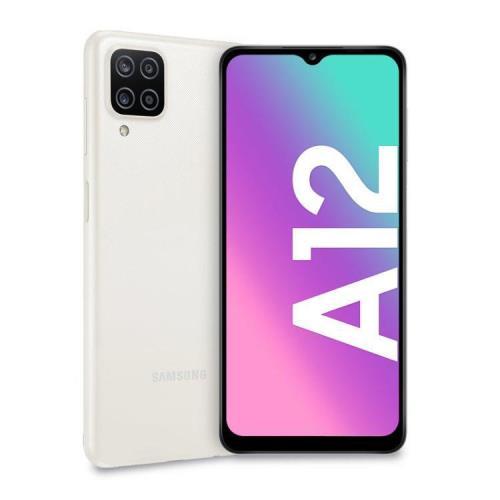 SMARTPHONE GALAXY A12 (A125F) 64GB BIANCO DUAL SIM - GARANZIA ITALIA - PIANURA Informatica
