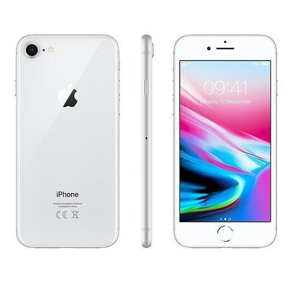 SMARTPHONE IPHONE 8 256GB SILVER - RICONDIZIONATO - GAR. 24 MESI - GRADO A - PIANURA Informatica