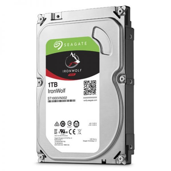 "HARD DISK 1 TB IRONWOLF SATA 3 3.5"" NAS (ST1000VN0022) - PIANURA Informatica"