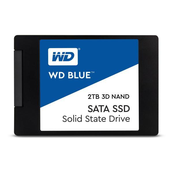 """HARD DISK SSD 2TB BLUE 3D SATA 3 2.5"""" (WDS200T2B0A) - PIANURA Informatica"""
