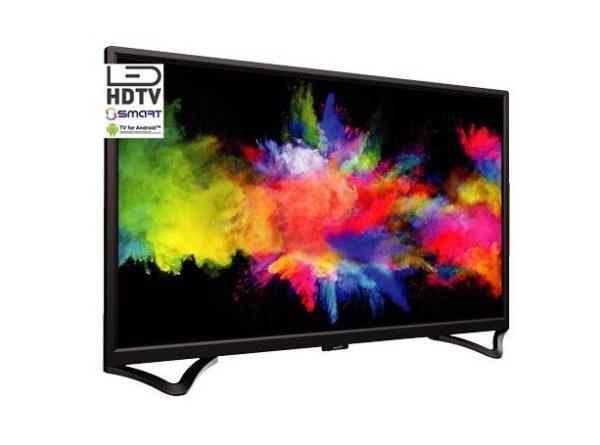 "TV LED 32"" ASSTV3220HDS HD SMART TV DVB-T2 ANDROID - PIANURA Informatica"
