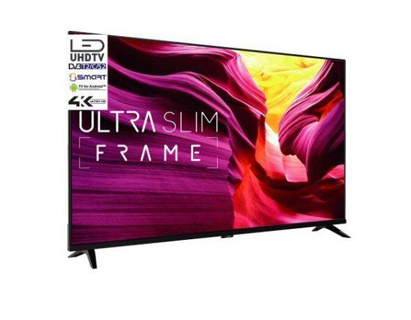 "TV LED 49"" ASSTV494KUHDS ULTRA HD 4K SMART TV WIFI DVB-T2 ANDROID - PIANURA Informatica"