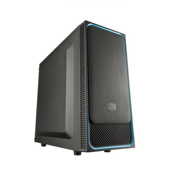 CASE MASTERBOX E500L LED SILVER (MCB-E500L-KN5N-S02) NO ALIMENTATORE - PIANURA Informatica