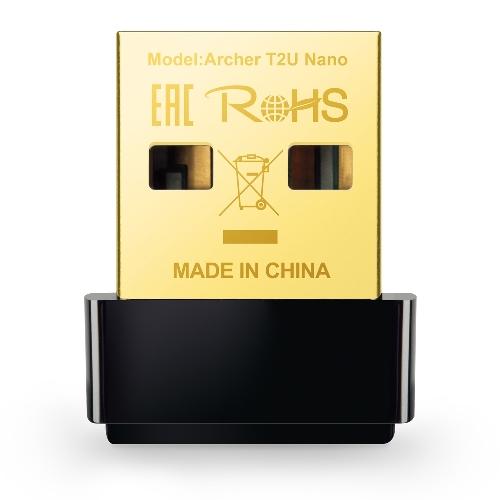 SCHEDA DI RETE WIRELESS USB ARCHER T2U AC1600 NANO - PIANURA Informatica