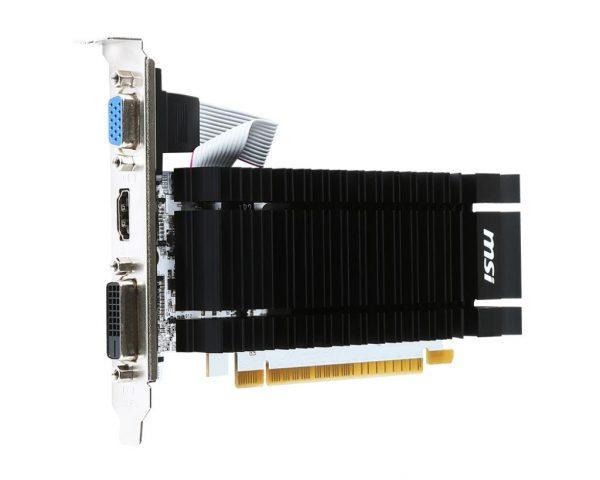 SCHEDA VIDEO GEFORCE GT730 2 GB PCI-E N730K GD3H/LP (V809-001R) - PIANURA Informatica