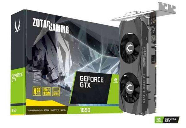 SCHEDA VIDEO GEFORCE GTX1650 GAMING 4 GB DDR6 (ZT-T16520H-10L) LOW PROFILE - PIANURA Informatica