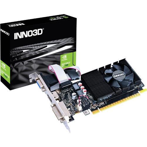 SCHEDA VIDEO GEFORCE GT 730 4 GB PCI-E (N73P-BSDV-M3BX) LOW PROFILE - PIANURA Informatica