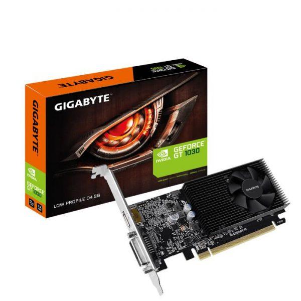 SCHEDA VIDEO GEFORCE GT1030 D4 2G GV-N1030D4-2GL 2 GB PCI-E LOW PROFILE - PIANURA Informatica